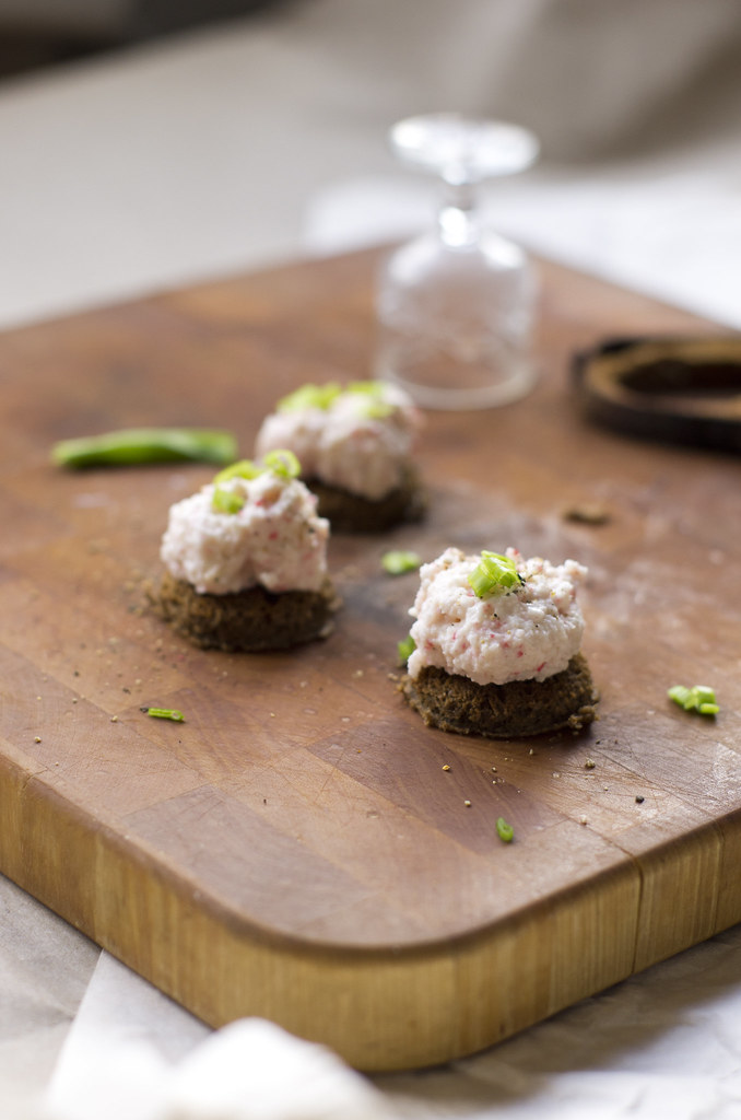 Makravahuga suupisted / Surimi snacks