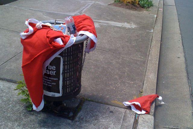 Trash Santa