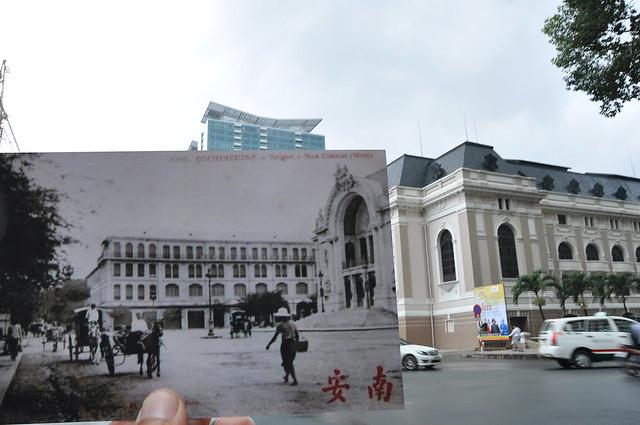 Nhà hát Thành phố & Khách sạn Continental đầu thế kỷ 20