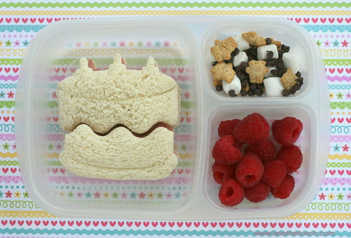 Lunch Punch cake bento