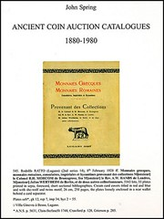 Spring Ancient Coin Auction Catalogs