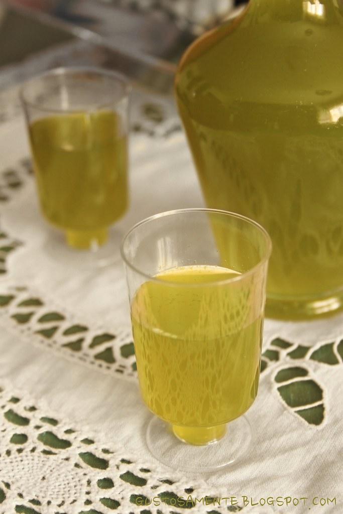 Liquore menta-limone