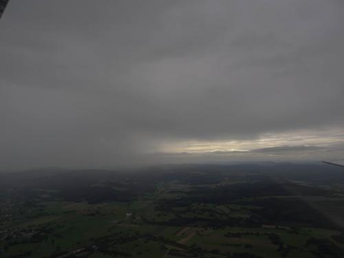plane landscape view