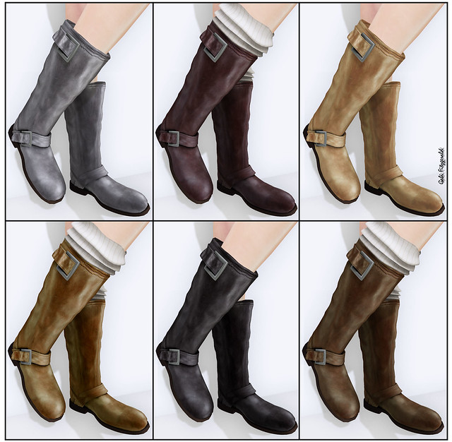 HABERDASHERY (Charlotte Riding boots colors)