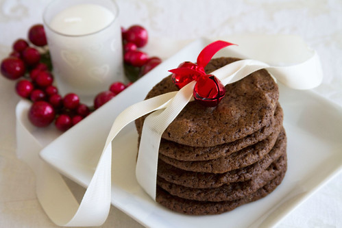 Peppermint White Chocolate Mocha Cookies - 6