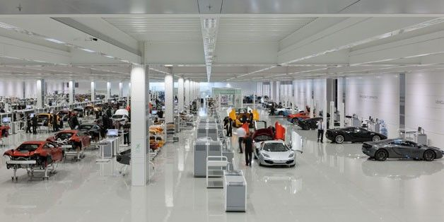 McLAREN OPEN BRAND-NEW PRODUCTION CENTRE