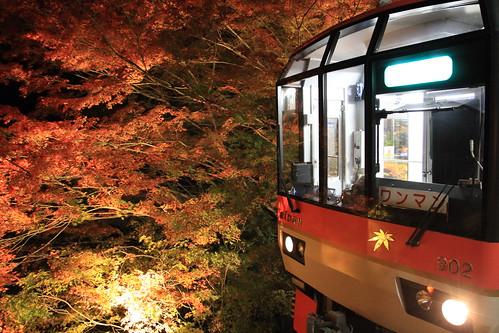 貴船 叡山鉄道 eizan railway kibune