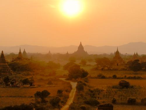 Bagan-Coucher de soleil (6)