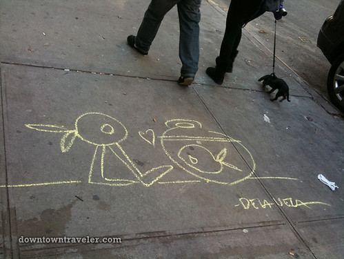 De la Vega chalk art in East Village_13