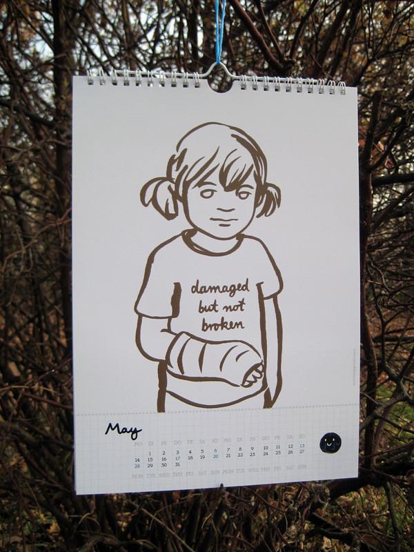 Wall Calendar 2012