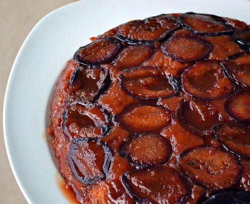 Plum Cake Tatin