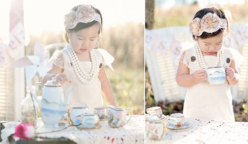 lily tea party double