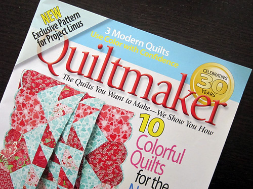 "Hey, I make ""modern quilts"" - it's official!"