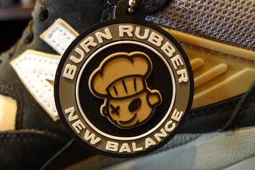 """Burn Rubber x New Balance """"Blue Collar"""""""