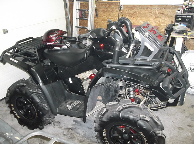 Can Am Spyder Lift - 2012 Can Am SPYDER Charming Project On