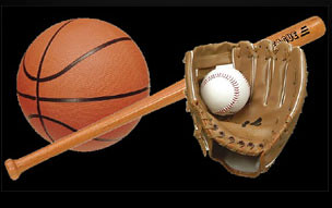 Baseball and Basketball