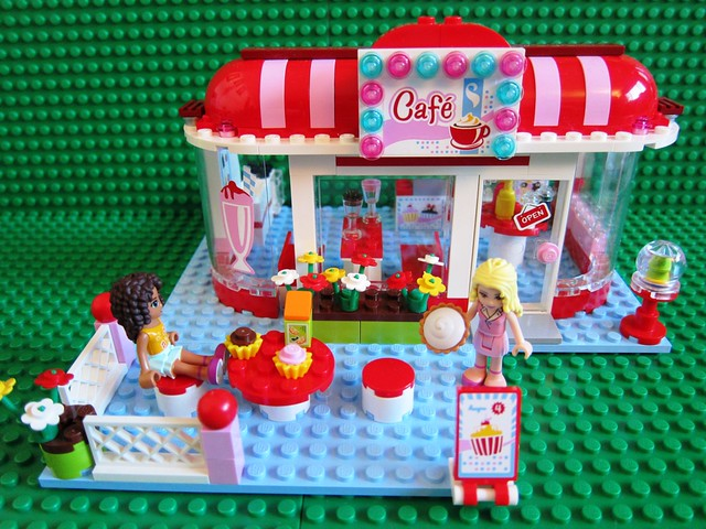 Lego Friends City Park Cafe 3061 1 - a photo on Flickriver