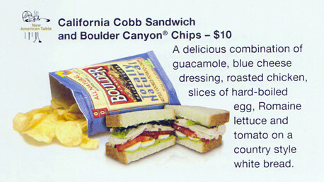 New: California Cob Sandwich