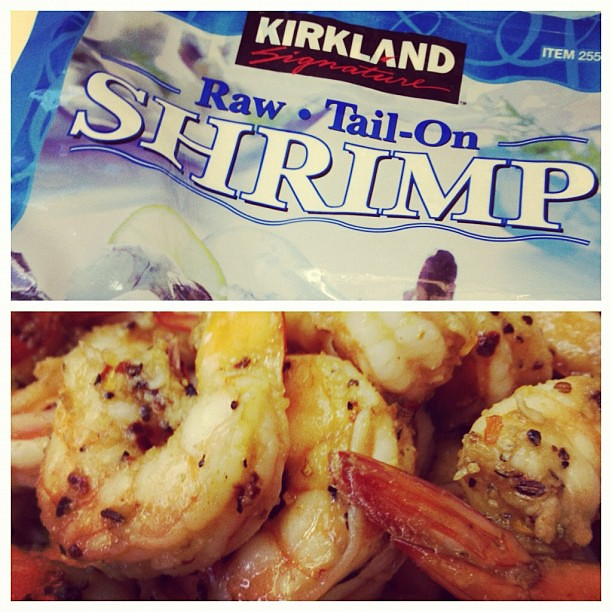 Day 20: Before & After -- shrimp! #marchphotoaday