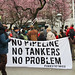 No Tankers Rally - No Pipeline, No Tankers, No Problem