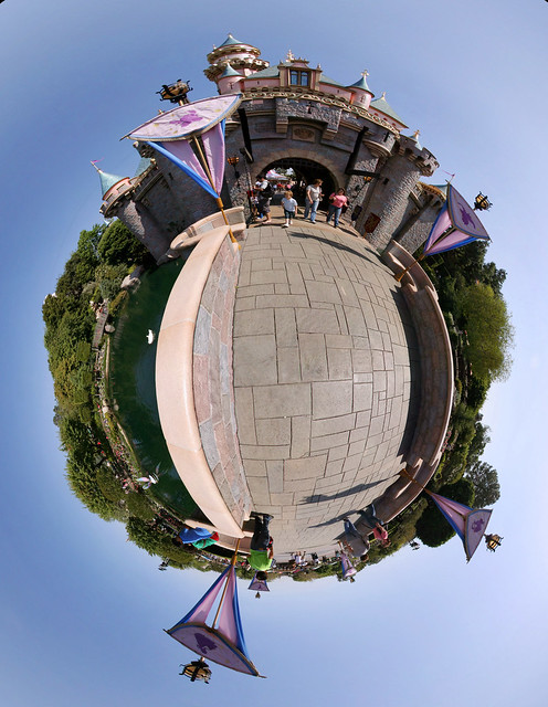 Sleeping Beauty Castle - Polar little planet
