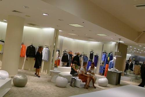 Yigal AZROUEL @SAKS Bal Harbour Shops | by Vogue Chica