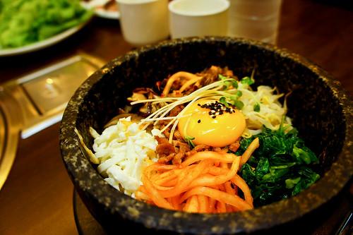 Korean's Bibimbab (mixed rice)