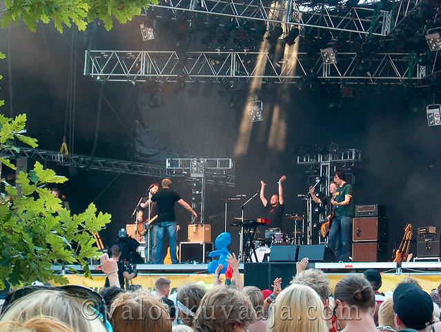 Ruisrock 2005 sunnuntai - Egotrippi