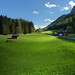 The Rauris valley shaped by lush green Alpine meadows.