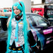 Miku cosplay at Anime Expo 2011