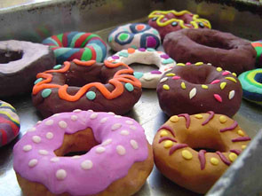 Clay Donuts