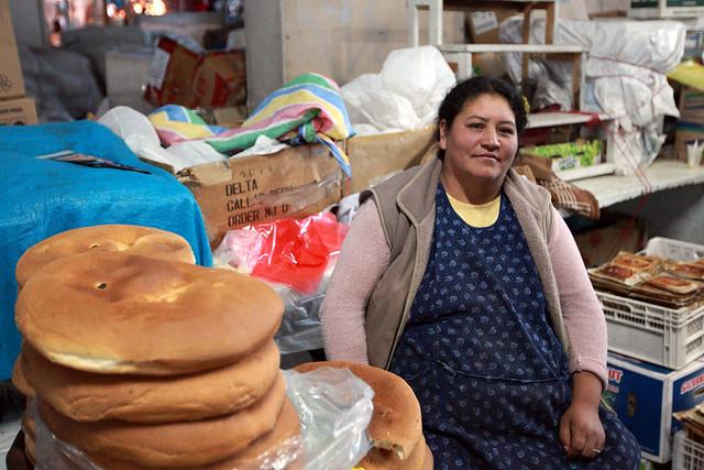 Easter Bread Woman