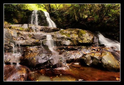 waterfall cascade smokymountains smokymountainnationalpark laurelfalls collectionslideshow