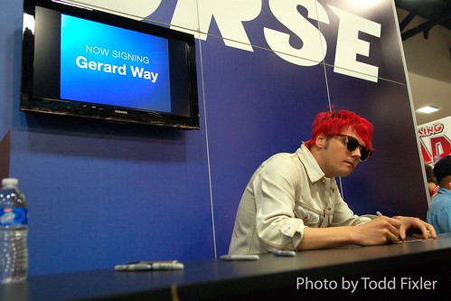 Gerard Way - Umbrella Academy/My Chemical Romance