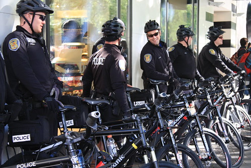 Seattle Police On Bikes