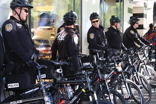 Seattle Police On Bikes