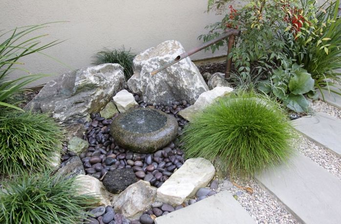 Tranquil japanese garden by freidin design and for Japanese rock garden designs
