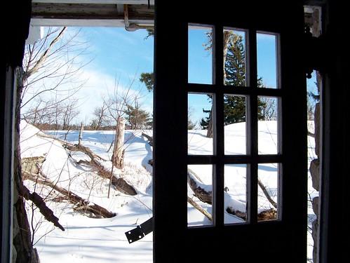 winter snow building architecture landscape view insideout