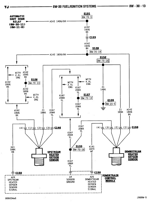 97 Jeep Wrangler Distributor Wiring Diagram : Jeep cherokee sport ignition wiring diagram get free