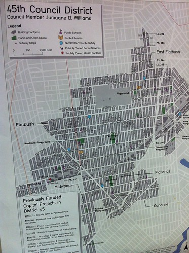 Participatory Budgeting NYC Disctric 45 Map