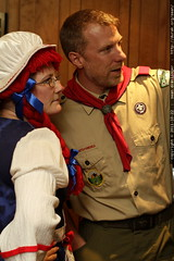 raggedy anne with scoutmaster skai    MG 5853