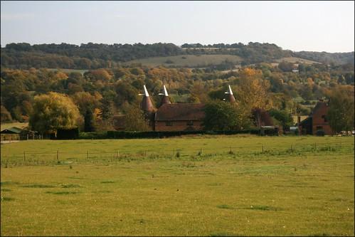 Oast house near Otford