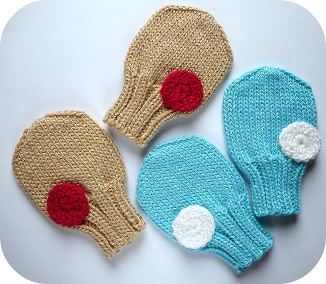 Baby Mittens Knit Pattern | Patterns Gallery