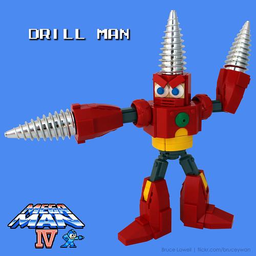 LEGO Drill Man