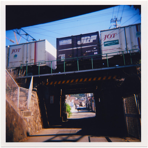 railroad film rain japan train mediumformat holga toycamera engine jr ishootfilm 日本 nippon locomotive 電車 japon trainyard kyushu 120n 九州 jrf holga120n freightyard 福岡県 japanrailways 鹿児島本線 scannedoriginal ホルガ holga120nmediumformatfixedfocuscamera 北九州市 kitakyūshū fukuokaprefecture 門司区 ホルガ120n 門司駅 mojiku kagoshimamainline mojistation japan92011 japanrailwaysfreight モード間の列車