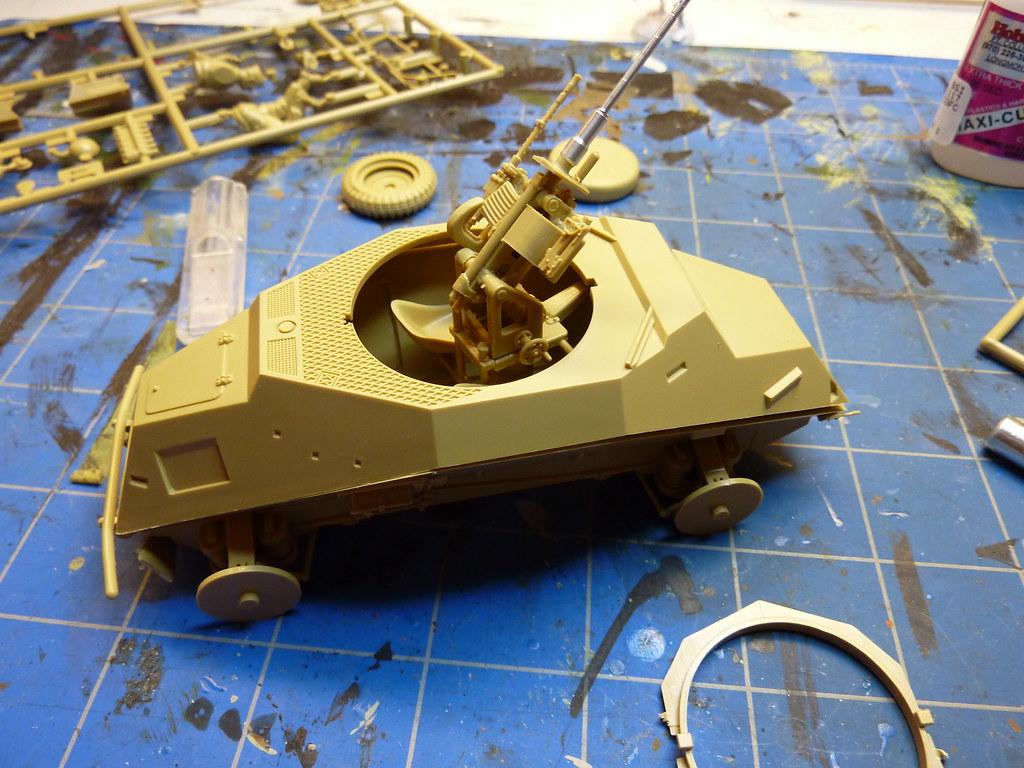 tamiya 1 35 sd german armored car. Black Bedroom Furniture Sets. Home Design Ideas