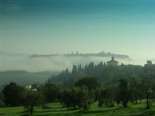 Orvieto Italy - Fog - Day