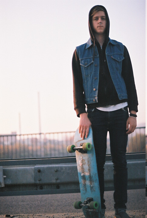 skateboard boy.