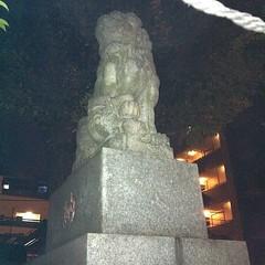 狛犬探訪 大森浅間神社は子取り玉取り