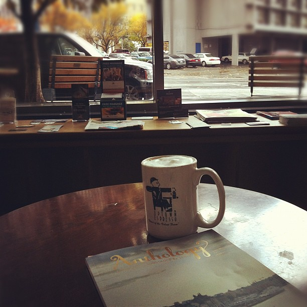 cappuccino & @anthologymag break